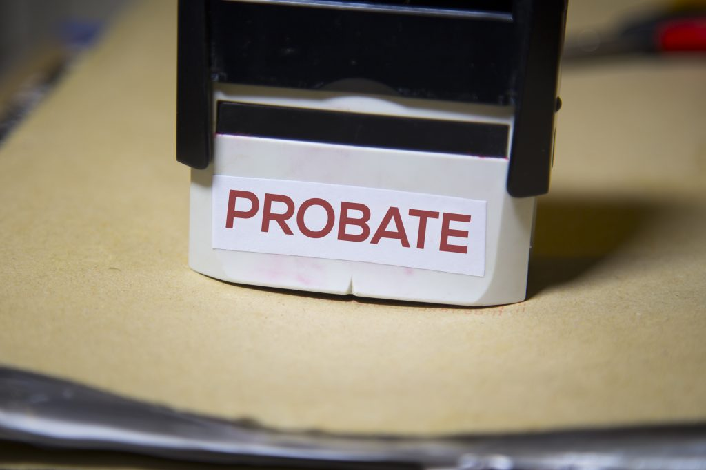 Probate involves multiple steps through the legal system.
